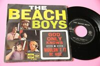 """Strand Boys 7 """" God Only Knows Italy Ovp 1966 NM"""