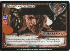 Buffy CCG TCG Angels Curse Unlimited Edition Card #4 Death Stalks the Dream