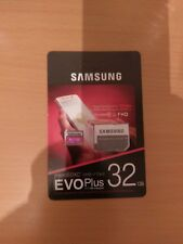 Samsung 32GB Micro SD Card Evo PLUS SDXC Class 10 With Adapter NEW
