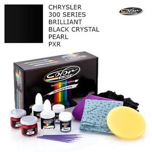 Color for Chrysler 300 Series Brilliant Black Crystal Pearl PXR Touch Up Paint