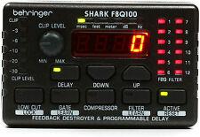 New Behringer Shark FBQ100 Buy it Now! Make Offer! Auth Dealer! Best Deal!