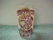 1977 Kentucky derby glass .Seattle Slew.Triple Crown Winner  New