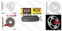 DID Chain Sprocket Kit 16/42t 428/118 fit Honda CBF125 09-13