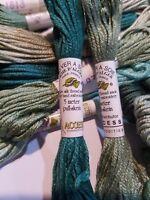 Au Ver a Soie Soie d'Alger 7 ply silk floss You Choose Your Colors 1800 Range
