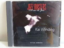 CD ALBUM Jazz masters 100 ans de jazz KAI WINDING