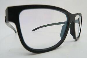 ic! berlin eyeglasses mod Segleweg 114 size 53-14 black made in Germany NOS
