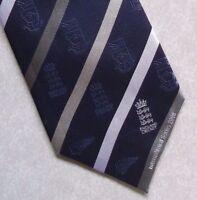 Vintage CRICKET Tie Mens ENGLAND INTERNATIONAL SERIES 2008 TRENT BRIDGE ECB