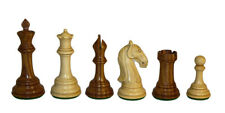 Sheesham Camelot Chess pieces