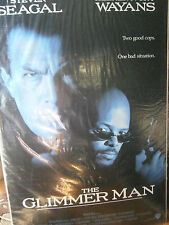Authentic The Glimmer Man Movie Poster 1996 Steven Seagal Keenen Ivory Wayans