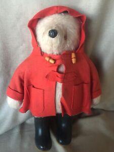 """Mohair Bear Paddington Dressed 19"""" 1972, Gabrielle Designs, Wow!!"""