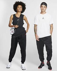 Nike Jordan Wings Flight Suit Basketball Trousers Medium Black Gym Red