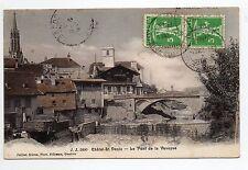 SUISSE SWITZERLAND canton FRIBOURG CHATEL SAINT DENIS Le pont de la Veveyse
