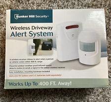Bunker Hill Security Wireless Driveway Alert System item 93068