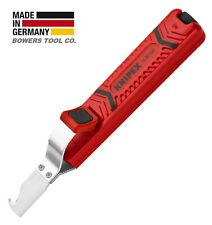 """Knipex Cable Stripper Dismantling Tool Knife 6-1/2"""" 8-28mm 5/16""""-1 1/8"""" 1620165"""