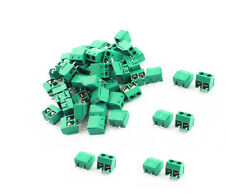 20PCS KF301-2P 2 Pin Plug-in Screw Terminal Block Connector 5.08mm Green