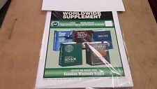 2014 World Stamp Supplement two post fits HARRIS Other years avail. see discount