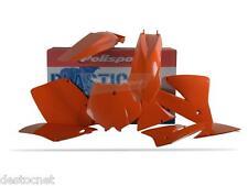Kit plastiques Polisport  Couleur Origine Pour KTM EXC125 EXC200 EXC250 2001-02