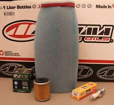 Yamaha Warrior 350 Raptor Wolverine Tune Up Kit Air / Oil Filter NGK Spark Plug
