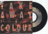 Ice Mc Take Away The Colour Cd Single France French Card Sleeve inc. hf mix