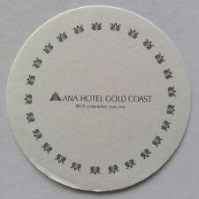ANA Hotel Gold Coast We'll remember you, too Coaster (B321-8)