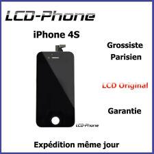 Ecran LCD + Vitre Tactile Sur Chassis - iPhone 4S Noir - Original
