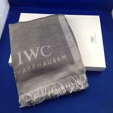 iwc schaffhausen luxury men's grey scarf very rare 2016