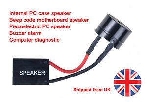 Motherboard PC Speaker beep error fault code buzzer computer diagnostic