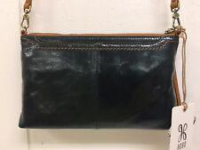 Hobo Genuine Leather Darcy Evergreen Green Crossbody Purse Handbag Retail $118
