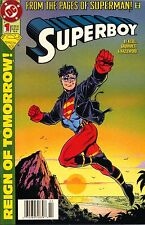 SUPERBOY,FROM THE PAGES OF SUPERMAN!,REIGN TOMORROW!,#1 FEB FEBRUARY 1994,MINT