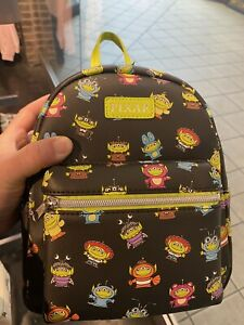 Loungefly Disney Pixar Toy Story Remix Alien Mini Backpack NWT
