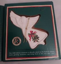 Pfaltzgraff Christmas Heritage Angel 1988  Ornament Collector's Series