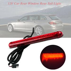 DC12V 24 LED Red Car SUV Rear Window Rear Tail Light High Mount Stop Brake Lamp