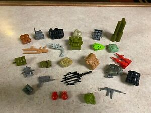 GIJOE COBRA Vintage 1982 - 1994  Figure Accessories Weapons Guns Parts LOT #2