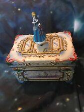 "Cinderella Music Box ""We Wish You A Merry Christmas� Winter Themed Disney"