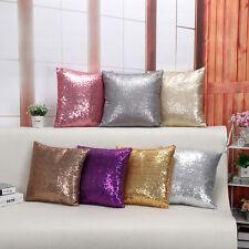 Glitter Sequin Sparkle BLING Cushion Home Sofa covers 40X40cm Pillows