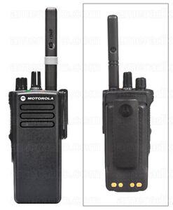 Motorola DP4400e UHF Digital 2 Way Radio Walkie Talkie DMR without Charger