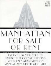 Manhattan for Sale or Rent--Upper West Side