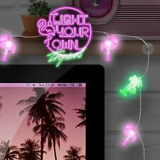 Light Your Own Fairy Tropical Lights Rainbow LED String by Mustard