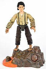 Lord of The Rings Trilogy Mount Doom FRODO Action Figure Electronic Base ROTK
