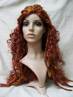 Gilded Goddess Wig Mythical Medusa Pirate Twisted Dreads Amazon Warrior Princess