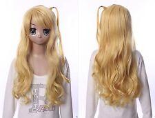 W-541 Sasami-san@Ganbaranai Tama Yagami blond 70cm COSPLAY Perücke WIG Perruque