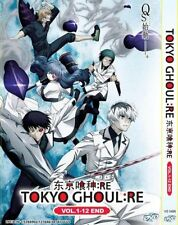 English Dubbed Anime DVD Tokyo Ghoul : Re Vol.1-12 End Free Shipping