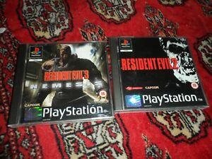 Resident Evil 2 and Resident Evil 3: Nemesis (PlayStation 1)