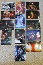 MOTLEY CRUE 13 EARLY PHOTOS 1981-2008 NIKKI SIXX NEIL MARS TOMMY LEE FINAL TOUR