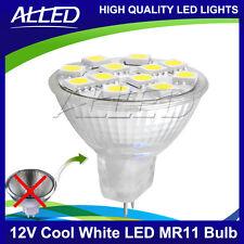 12V Cool White 5050 SMD LED MR11 Bulb Spotlight Downlight Reading rangehood Lamp