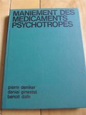 MANIEMENT DES MEDICAMENTS PSYCHOTROPES FRENCH BOOK PSYCHOTROPIC DRUGS