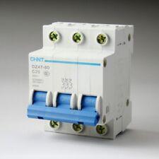 DZ47-60 C20 AC230/400V 3P 20A Rated Current 3 Pole Miniature Circuit Breaker