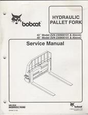 Bobcat heavy equipment attachment ebay bobcat hydraulic pallet fork service manual 1999 fandeluxe Images