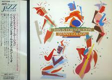 CD BENNY GOLSON -  for you, John, Japan-CD
