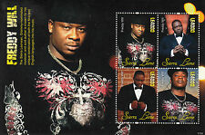 Sierra Leone 2011 MNH Freddy Will 4v M/S Grammy Music Author Krio